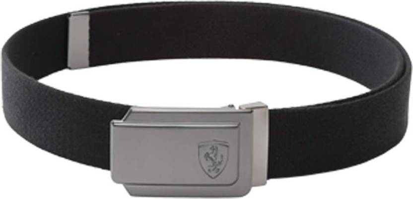2771e7395054c Puma Men & Women Casual Black Synthetic Belt Black - Price in India ...