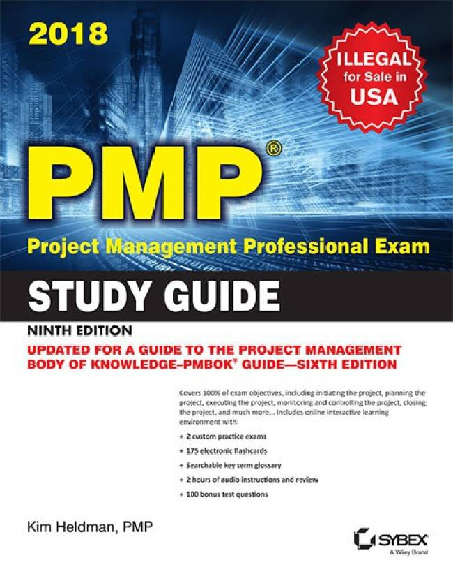 Pmp Project Management Professional Exam Study Guide 9ed Buy Pmp