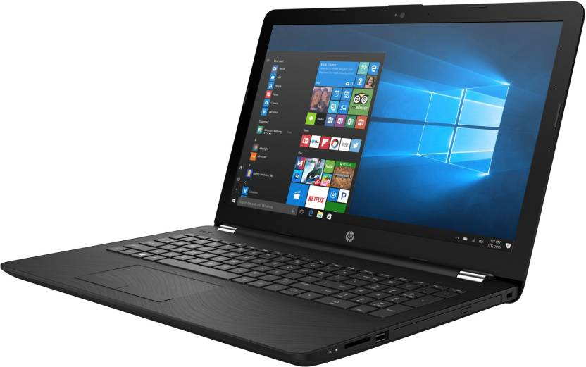 HP 15q Core i3 7th Gen - (4 GB/1 TB HDD/Windows 10 Home) 15q-bu041TU Laptop(15.6 inch, Sparkling Black, 2.3 kg, With MS Office)