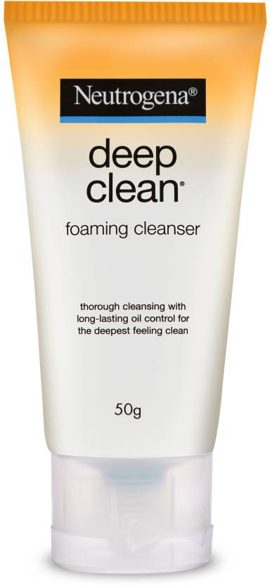 Neutrogena Deep Clean Foaming Cleanser Face Wash