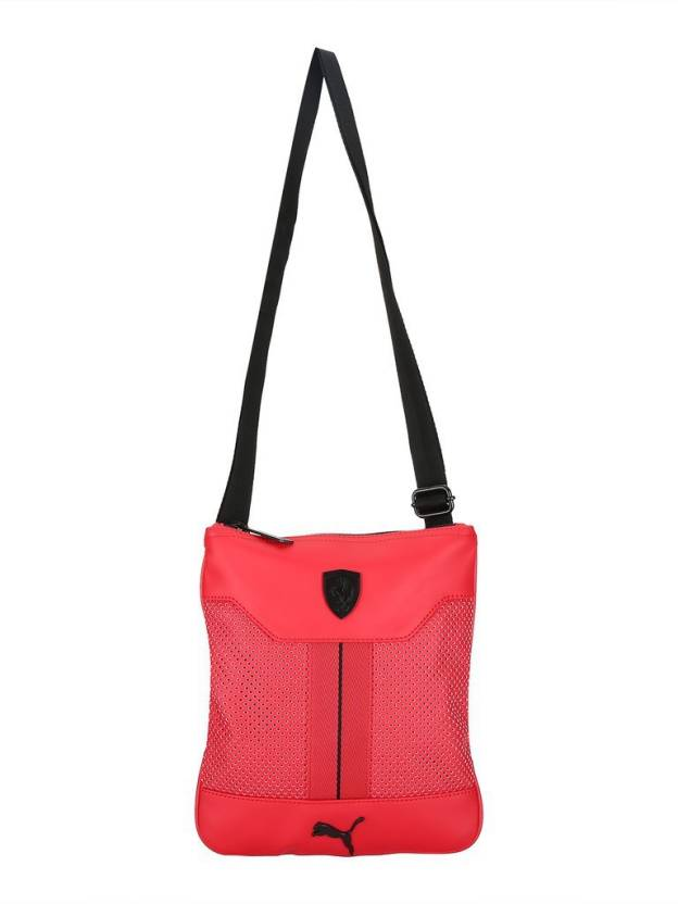 7206e4ae8950 Buy Puma Sling Bag Rosso Corsa Online   Best Price in India ...