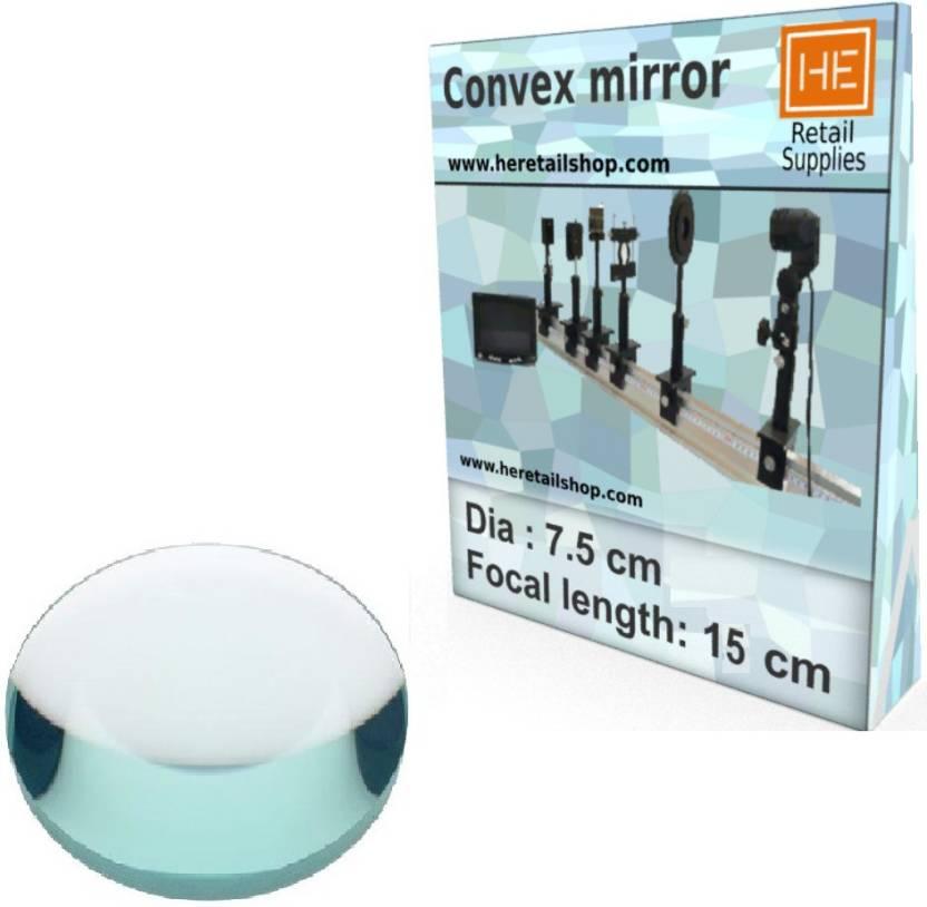 HE Retail Supplies 1 Convex mirror, Focus 15 cm, Dia 7 5 cm