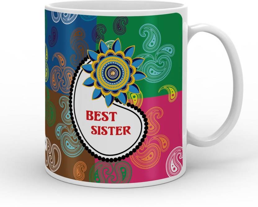Indigifts Raksha Bandhan Gift Rakhi Happy Birthday For Sister