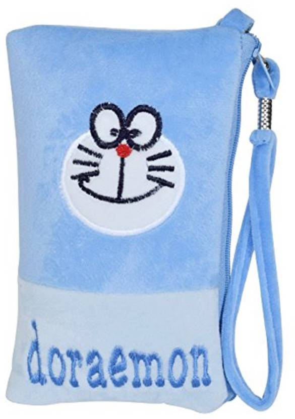 Chords Pouch For Teenagers With Handle Mobile Pouch Blue Price In