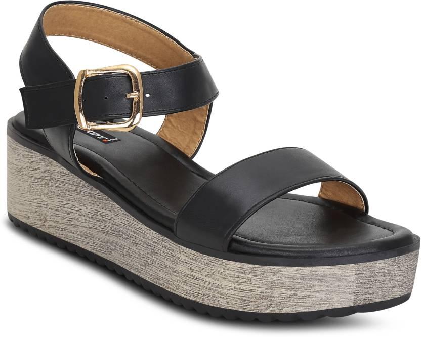 24220932141473 Get Glamr Women Black Wedges - Buy Get Glamr Women Black Wedges Online at  Best Price - Shop Online for Footwears in India