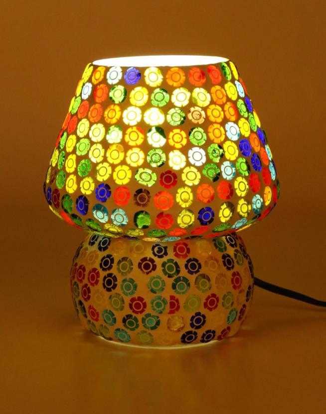 Somil Multi Colour New Handmade Designe Table Lamp 00121 Table Lamp
