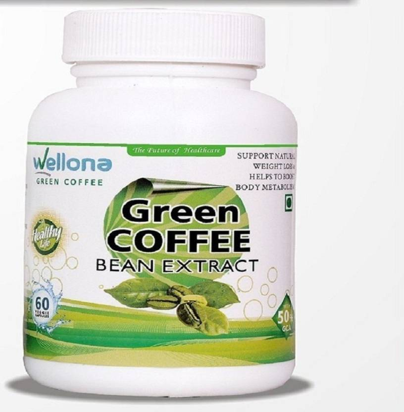 Wellona Green Coffee Beans Extract Weight Loss Pills 60 Capsules