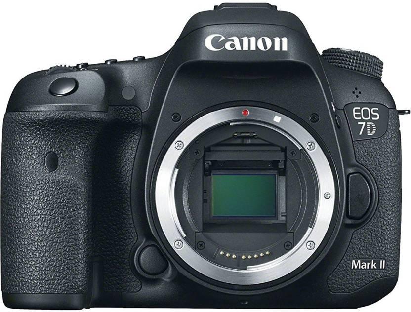 Canon EOS 7D Mark II DSLR Camera  Body Only  Black