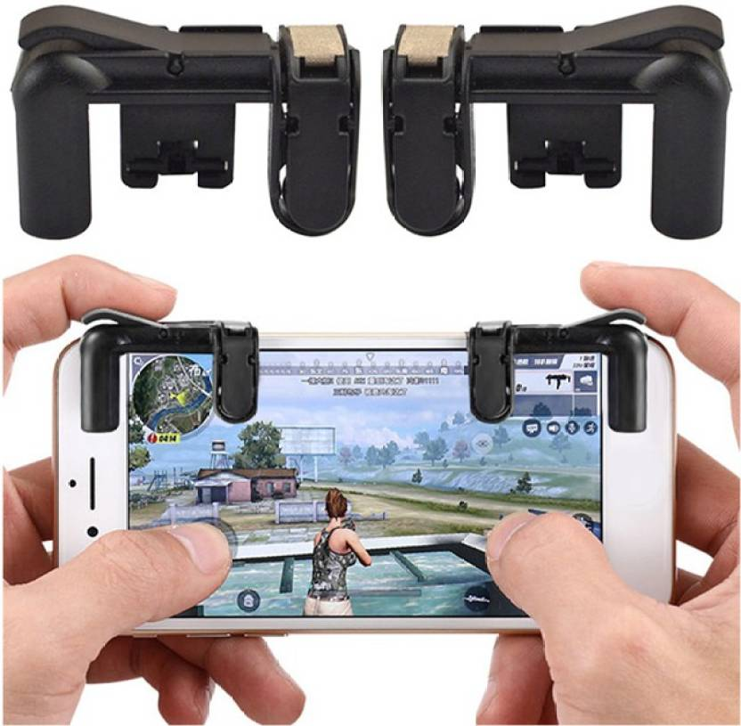 Qlonz store PUBG Gaming Trigger Mobile Game Controller Shooter
