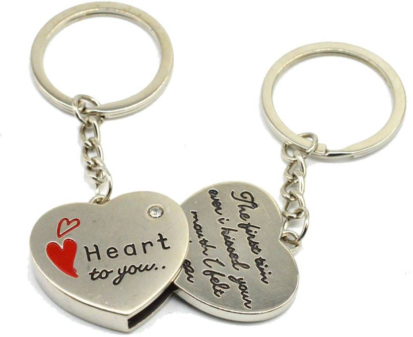 01b66300fd Faynci Two PC Quality Heart for You msg Couple Key Chain for Gifting  Valentine Day/Birthday/Friendship Day Key Chain Price in India - Buy Faynci  Two PC ...