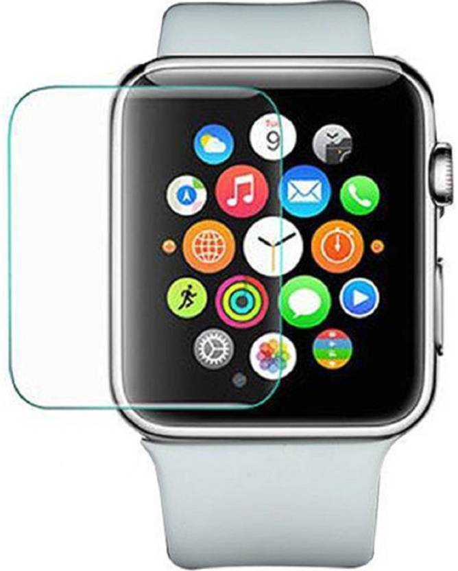 promo code a7097 b9f91 Buy Genuine Tempered Glass Guard for Apple Watch Series 1 / 2 / 3 42MM 5D  9H Tempered Glass iWatch Real Premium Glass Protective Screen Film ...