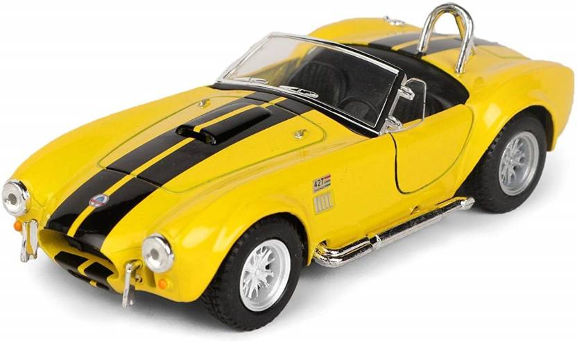 Assemble 1:32 Scale 1965 Shelby Cobra Classic Car Toys - 1
