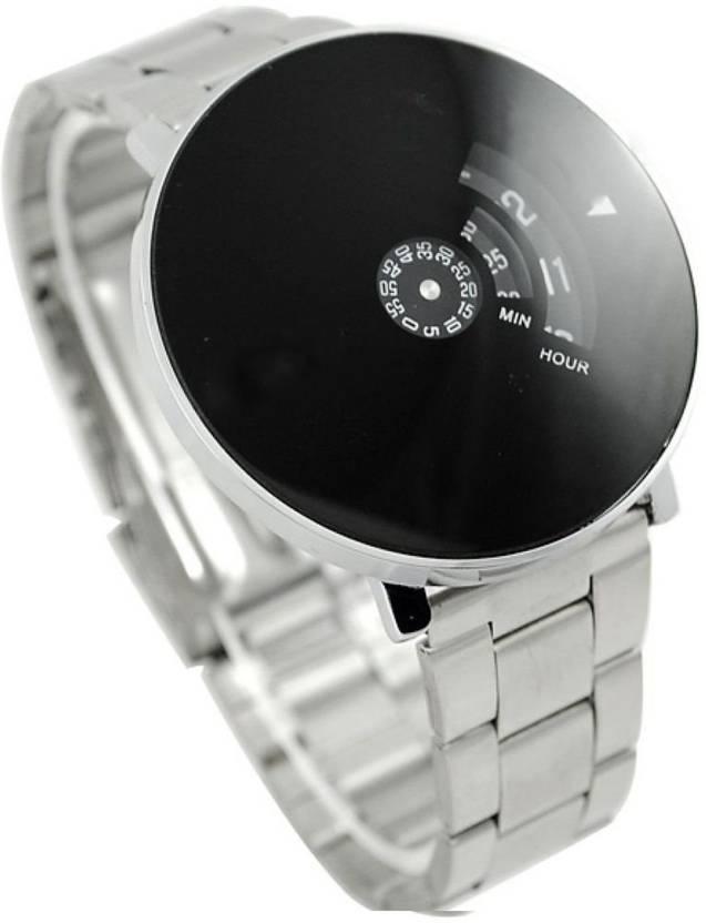 f957c809d44 Lifetime boys watch black metal wrist watch professional men watch in low  price unique latest watch