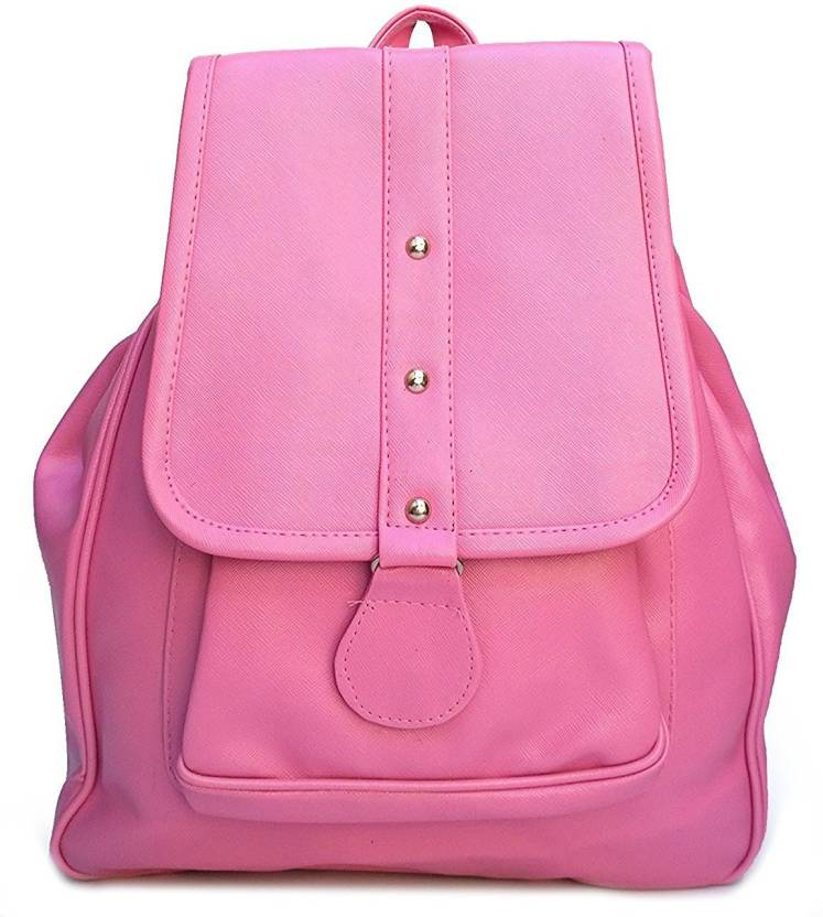 f773c56396cd NeerajCollections Women s Stylish Handbag Backpack NC-1025 Waterproof  Backpack (Pink
