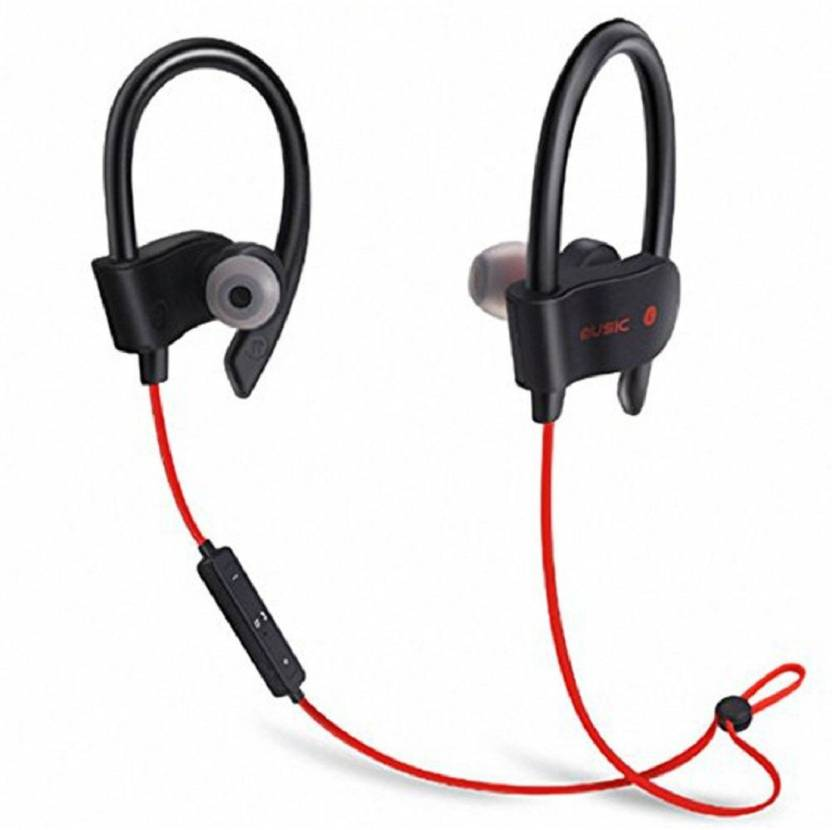 935e18231a7 Crazeis QC-10 Bluetooth Earphone Wireless Headphones Sports Stereo Jogger,  Running, Gyming Bluetooth Headset Compatible with All Android and iOS  Devices ...
