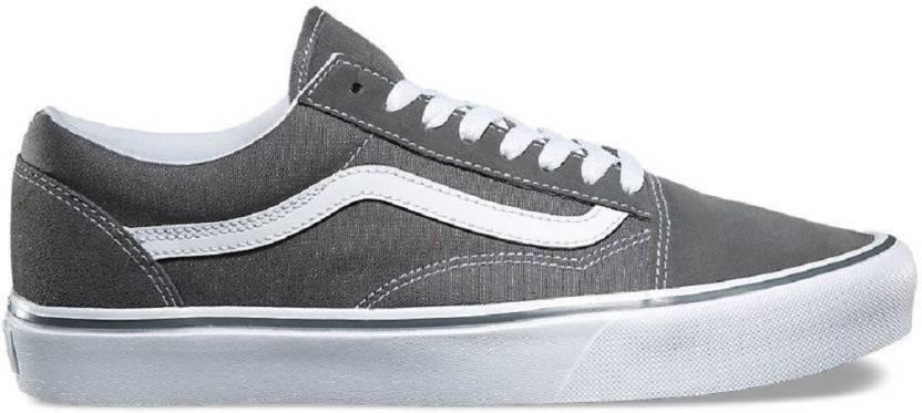 4c25bdd9cd5007 vans old skool Grey Sneakers For Men - Buy vans old skool Grey ...