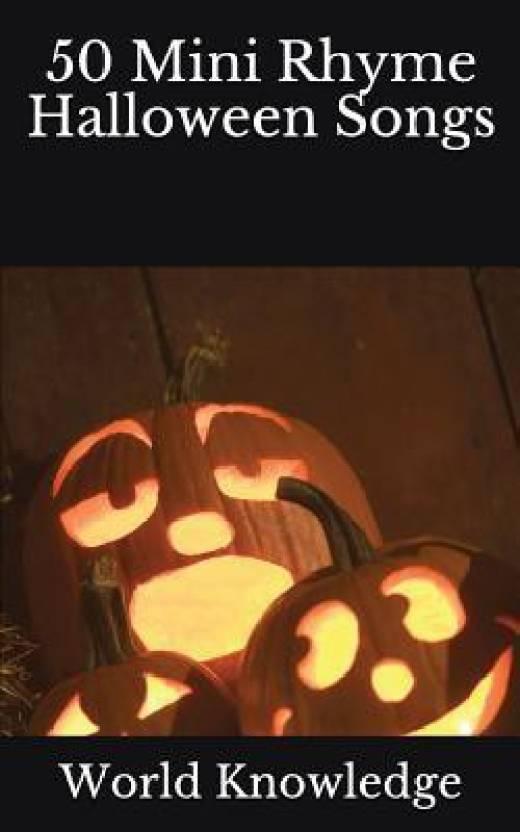 Halloween Songs.50 Mini Rhyme Halloween Songs Buy 50 Mini Rhyme Halloween Songs