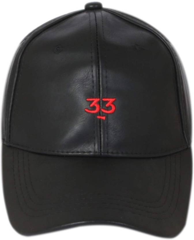 3eb6e3d8729 DRUNKEN Men s Black Adjustable Snapback Faux Leather Cap Cap - Buy DRUNKEN  Men s Black Adjustable Snapback Faux Leather Cap Cap Online at Best Prices  in ...