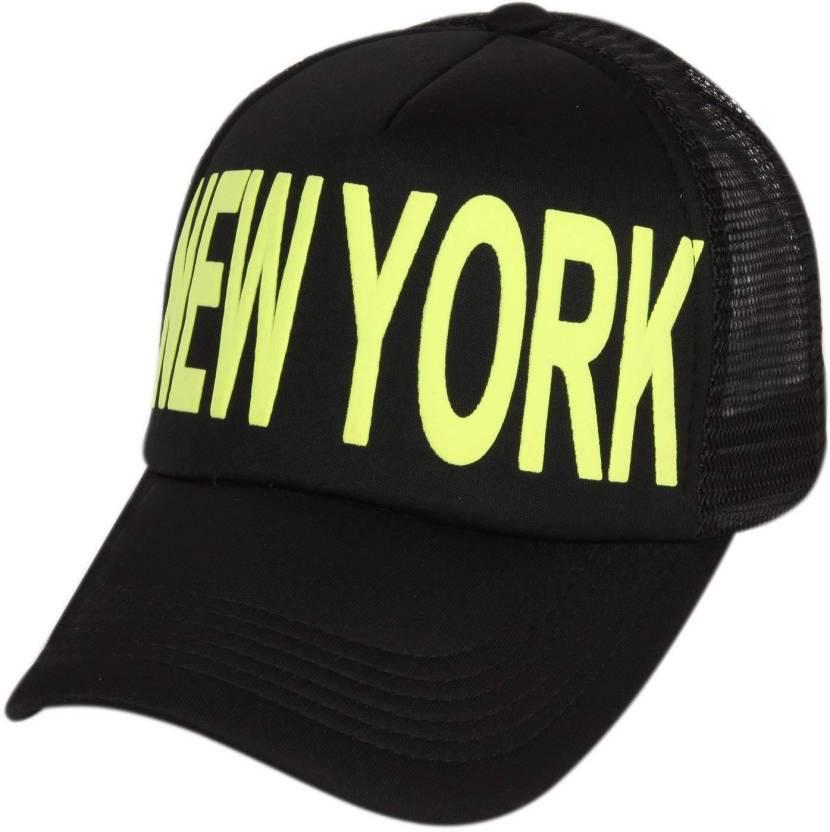 8f2ff5b333a DRUNKEN Men s Black And Yellow Adjustable Snapback Mesh Cap Cap - Buy  DRUNKEN Men s Black And Yellow Adjustable Snapback Mesh Cap Cap Online at  Best Prices ...