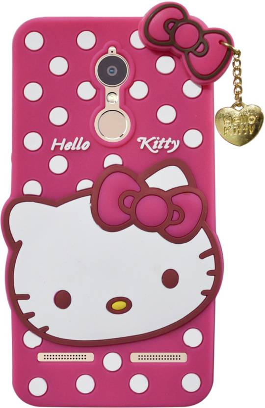 best website 593e9 041e9 Coverage Back Cover for Lenovo K6 Power (K33A42) Hello Kitty