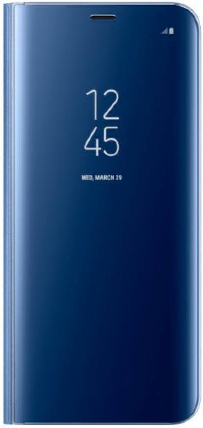 reputable site 47113 e8a33 Samsung Flip Cover for Samsung Galaxy S8 Plus Clear View Standing ...