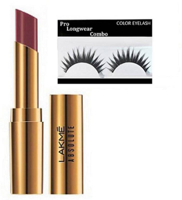21d3bfc64 Pro longwear combo eyelashes with absolute argan oil lip color (Set of 2)