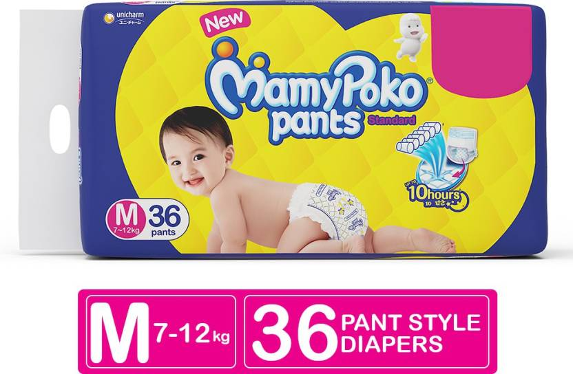 MamyPoko Pants Standard - M (36 Pieces)