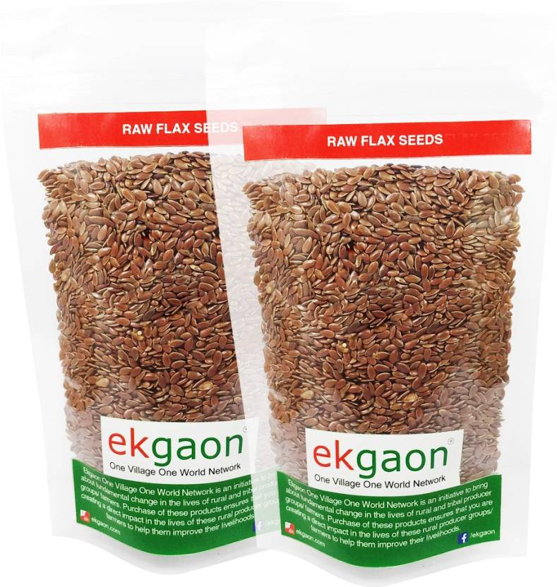 Ekgaon Brown Flax Seeds Price In India