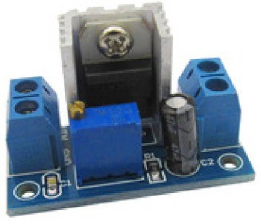 KITSGURU DC/AC to DC LM317 Adjustable Voltage Regulator 1 25V-37V