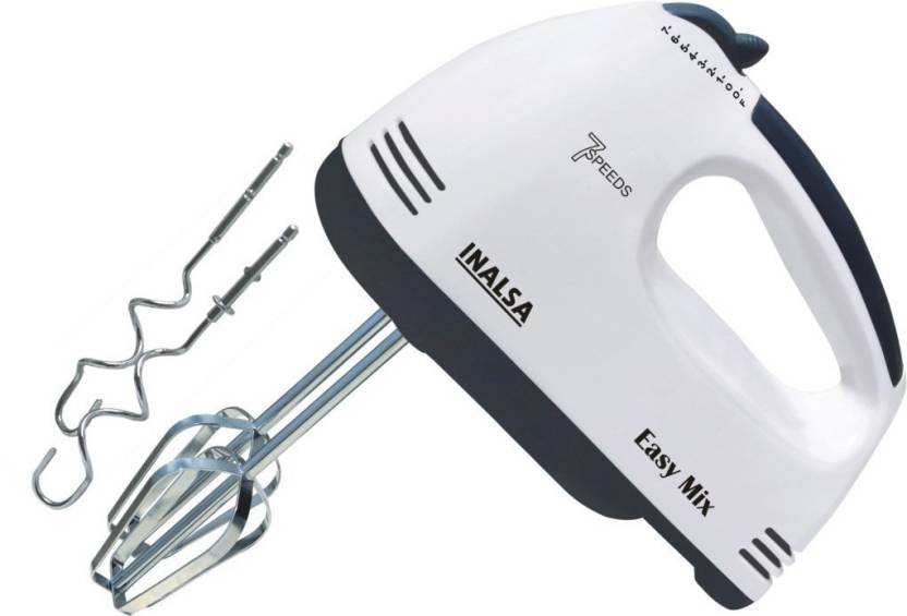 Inalsa Easy Mix 200-Watt Hand Mixer With 7 Speed