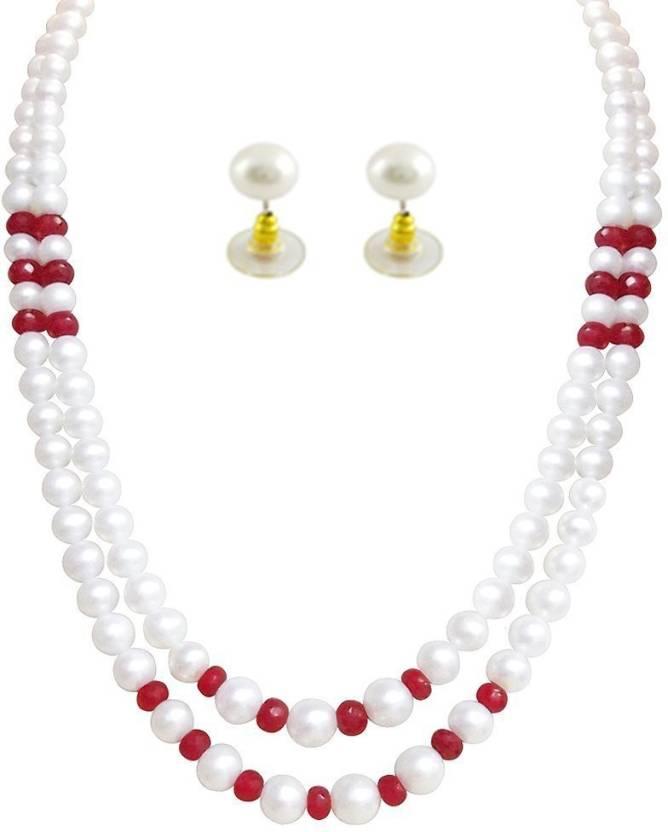 db85816d850 Trendy Souk Mother of Pearl Jewel Set Price in India - Buy Trendy ...