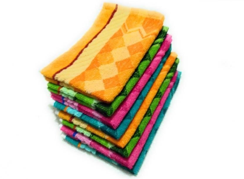 Cotton Colors Hand Towels Kitchen Towels 24 Np1024 Napkins