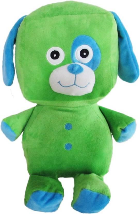 6d85d6dfc1b5 My Baby Excels Standing Saint Bernard Dog Plush - Green 32cm - 32 cm (Green)