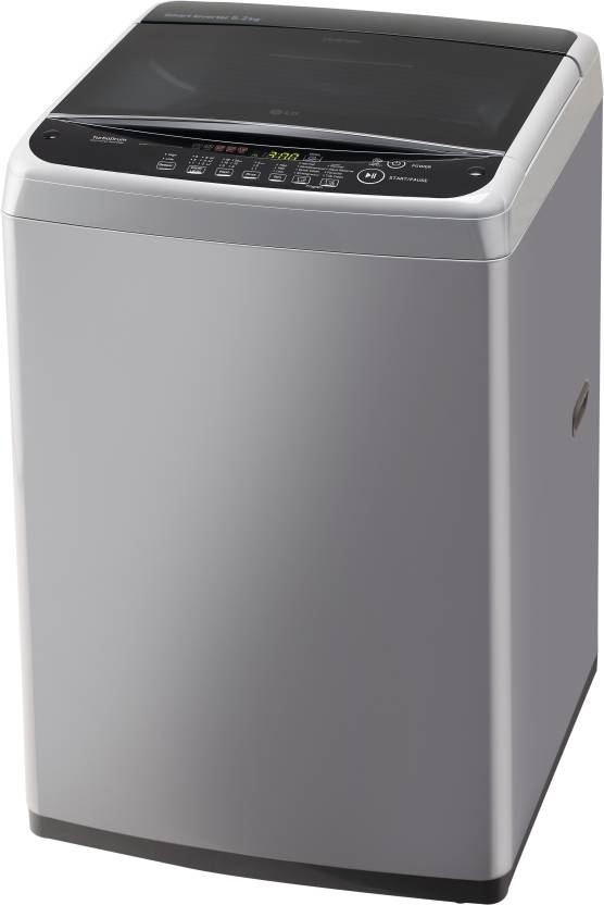 LG 6.2 kg Fully Automatic Top Load Washing Machine Silver(T7288NDDLG)