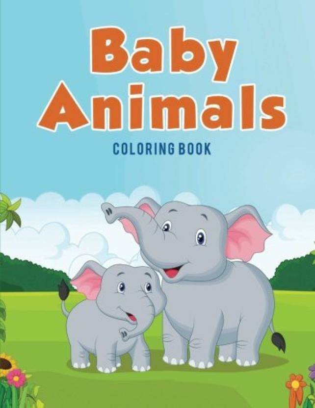 Generic Coloring Pages For Kids Baby Animals Coloring Book