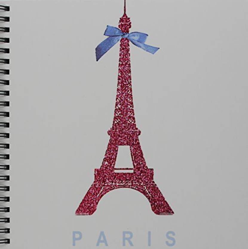3dRose db_112907_1 Hot Pink Eiffel Tower from Paris with