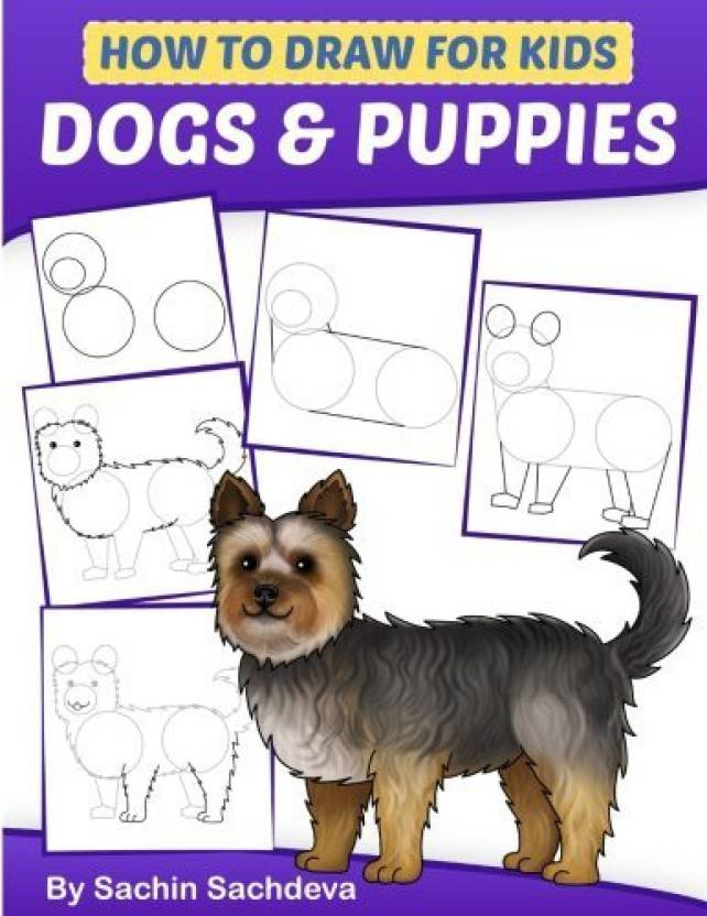 Generic How To Draw For Kids Dogs Puppies An Easy Step By Step