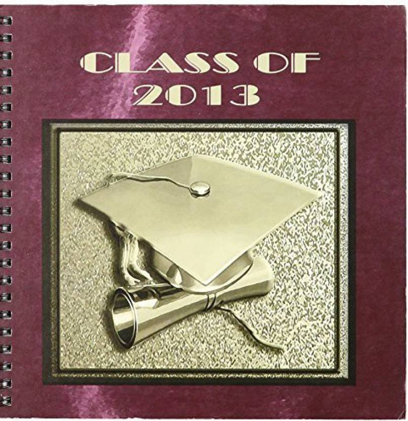 3dRose db_98985_1 Graduation Cap with Diploma, 2013, Red and
