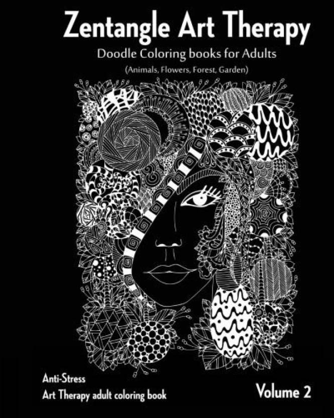 generic zentangle art therapy zentangle doodle coloring books for