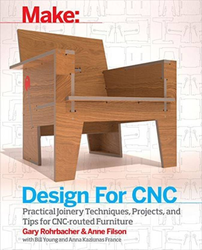 Maker Media Inc Design for CNC Furniture Projects and