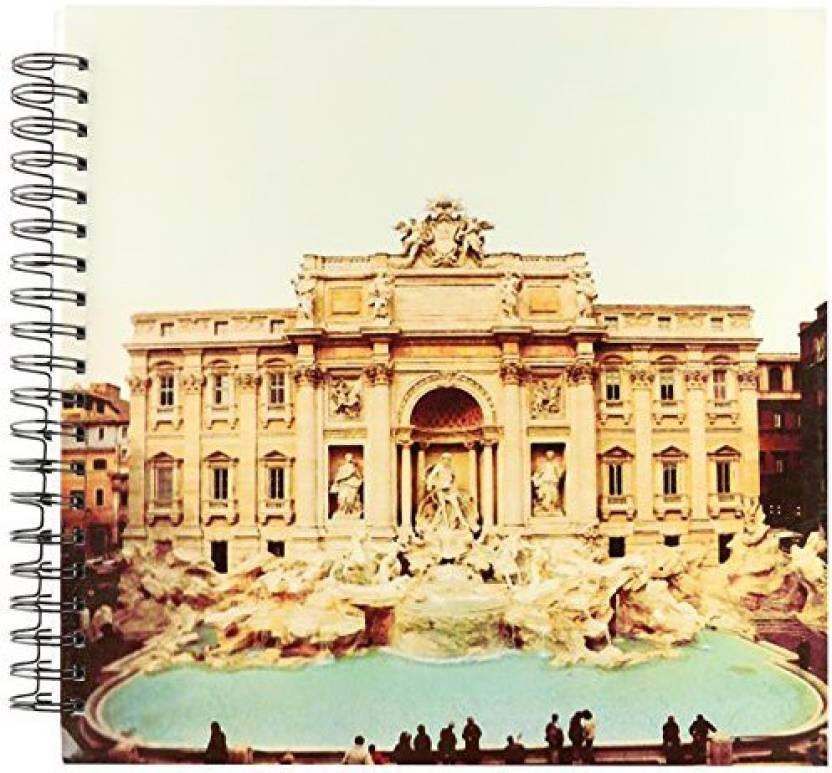 3dRose db_1137_2 Trevi Fountain Italy Memory Book, 12 by 12