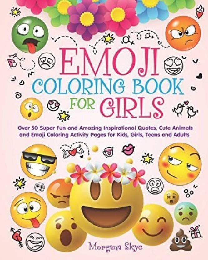 Generic Emoji Coloring Book for Girls 50 Super Fun and Amazing ...
