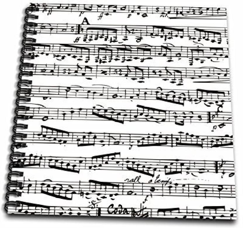 Piano Notes Book