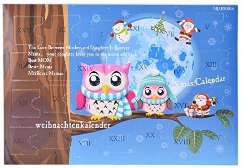 Generic Xiehou Mjartoria Christmas Advent Calendar Girls Jewellery