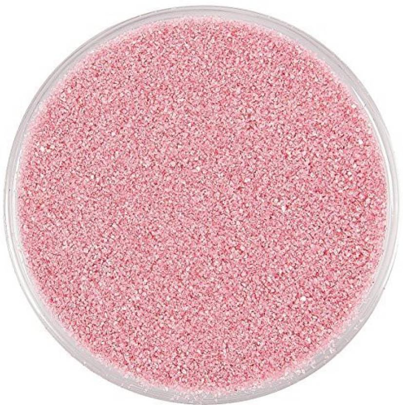 Fun Express Rose Pink Colorful Decorative Sand 1 Lb Arts Crafts For