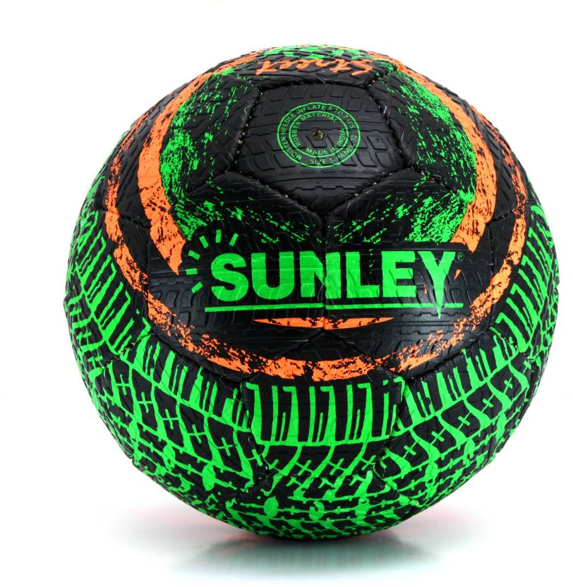 SUNLEY Street Soccer Football   Size: 5 Pack of 1, Multicolor