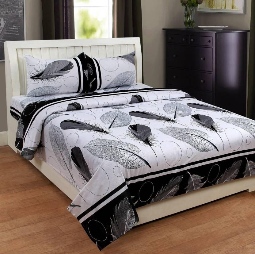 Homesense 180 Tc Cotton Double King Floral Bedsheet Buy Homesense