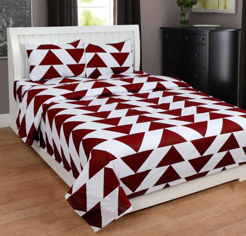 Homesense 180 Tc Cotton Double King Abstract Bedsheet Buy