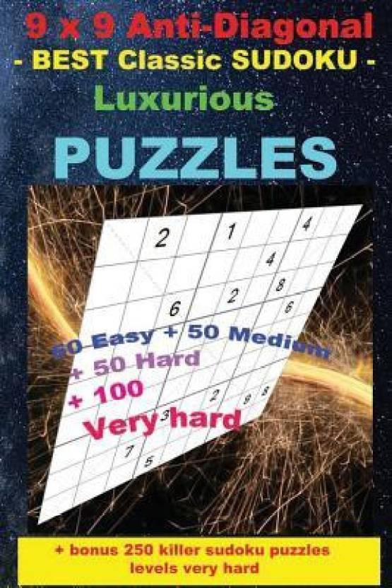 9 X 9 Anti-Diagonal - Best Classic Sudoku - Luxurious