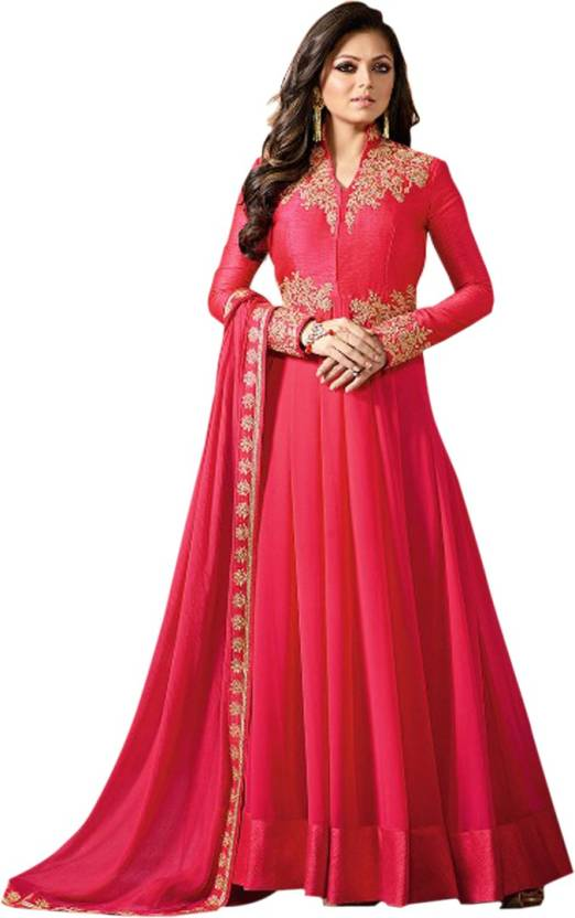 Ethnic Yard Anarkali Gown Price in India - Buy Ethnic Yard Anarkali ...